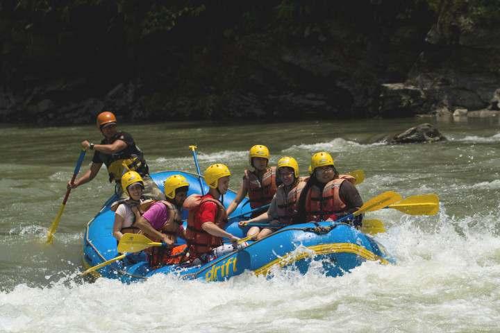 Bhotekosi River Rafting