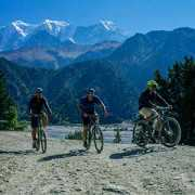 Biking in Nepal