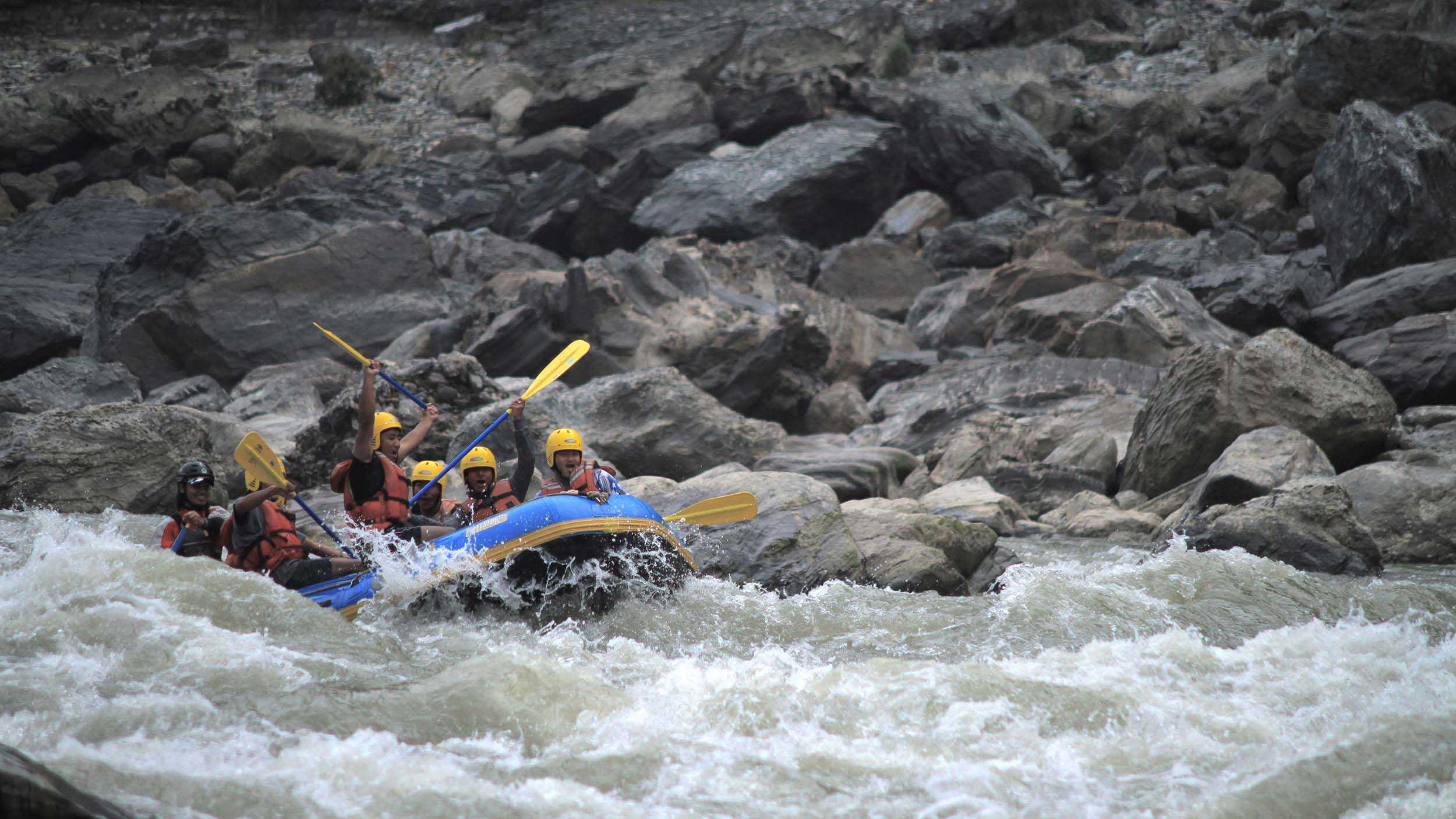 rafting in nepal Nepal is the best destination for whitewater rafting trips in the world it has more than a dozen rafting rivers that are located in beautiful natural settings giving you a journey of a lifetime.
