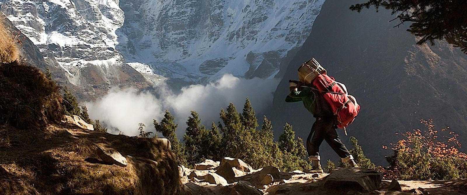 Nepalese Monastery Trekking, Nepal