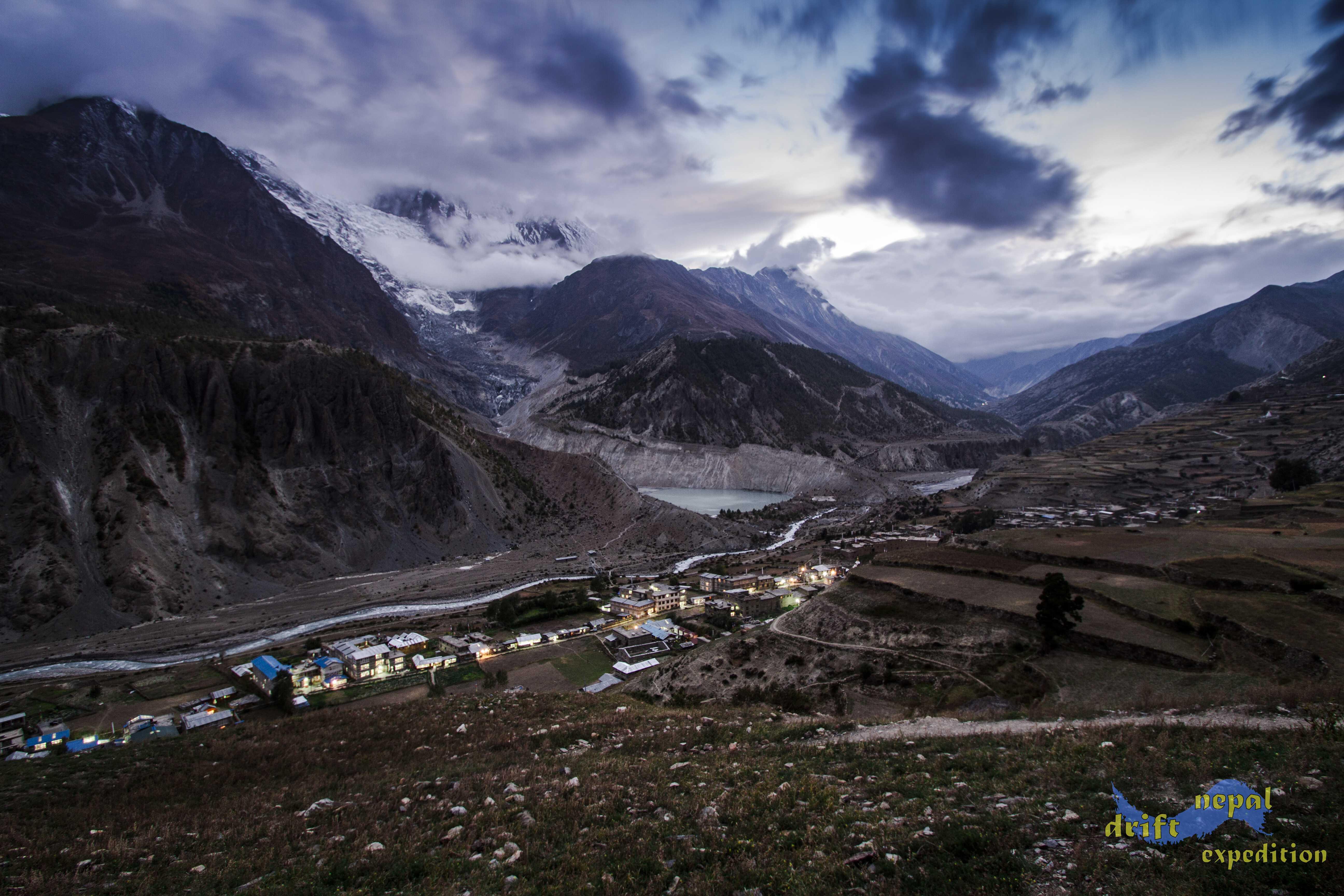 Manang trekking Nepal