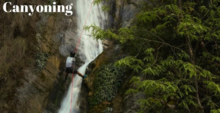 Canyoning Nepal