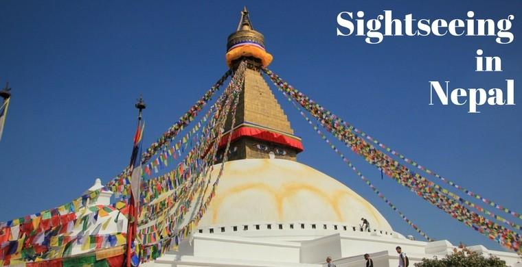 Sightseeing Nepal